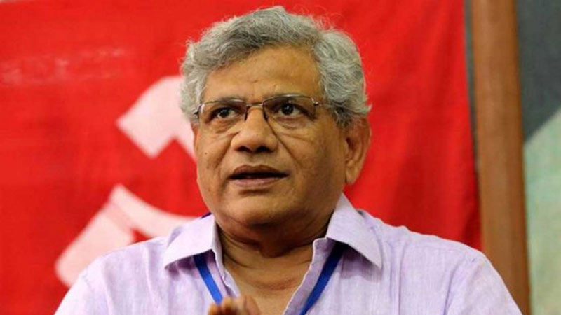 Sitaram Yenchuri, general secretary of Communist party of India Marxist