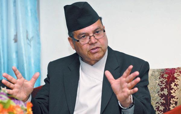ncp leader Jhal Nath Khanal