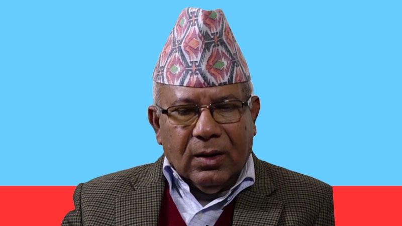 Madhav Kumar Nepal Madhab K Nepal