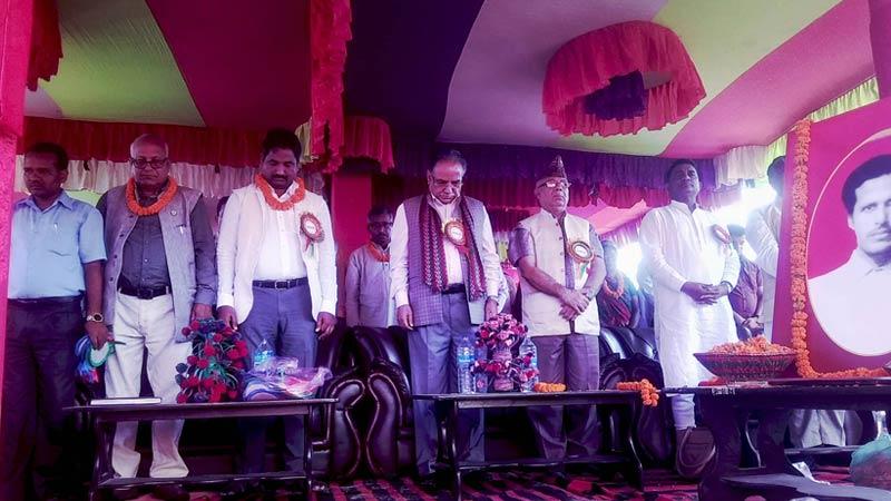 Ram Briksha Yadav Memorial Day, Dhanusha, Barmajhiya