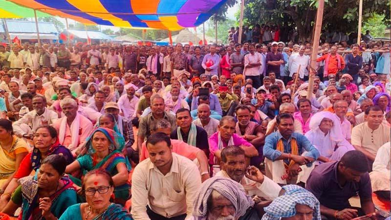 Ram Briksha Yadav Memorial Day at Dhanusha, Barmajhiya