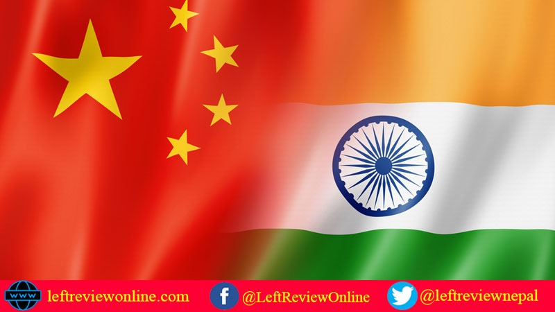 China and India Flag