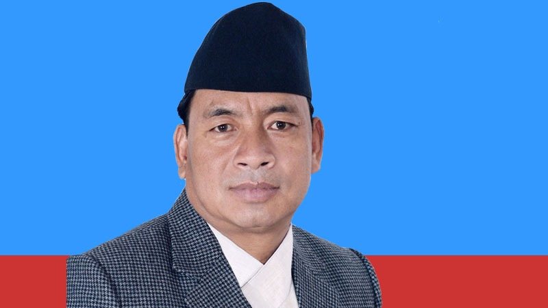 Vice President Nanda Bahadur Pun 'Pasang'
