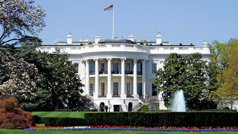 White House, south facade, american presidential palace