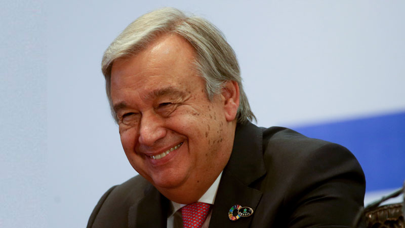 Antonio Guteres, UN Secretary General