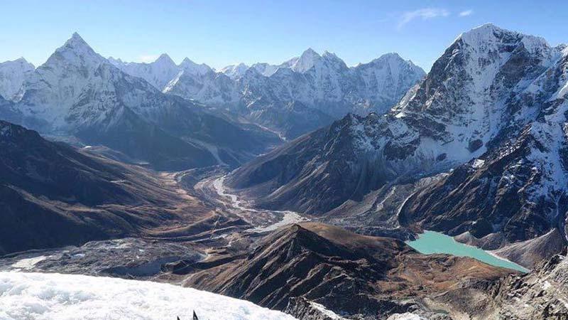 Nepali Himalayan range, Parbat, Mountain