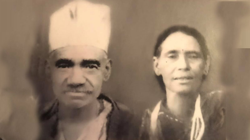 Father and mother of Daljit Shripali, rukum