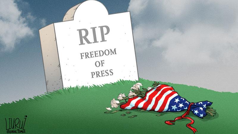 कार्टुन, अमेरिकामा प्रेस स्वतन्त्रताको अवस्था, cartoon, press freedom in usa
